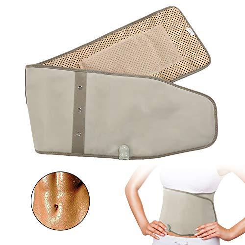 Beheizbarer Nierengürtel, Infrarotheizung, tiefer Lendenwirbelgurt für Muskeltraining, Kompresse, Warmhalteband, Vibration, Bauchmuskelgürtel