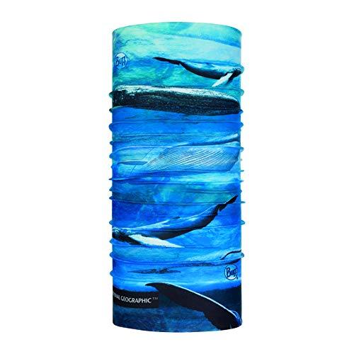 Buff Blue Whale Tour de Cou Protection Solaire Coolnet Mixte Adulte, FR Unique Fabricant : Taille One sizeque