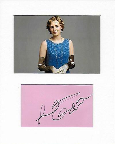 Downton Abbey – Lady Edith Crawley – Laura Carmichael authentisches handsigniertes Autogramm AFTAL COA