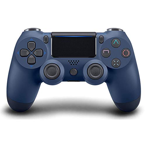 Game Controller for PS4 (Midnight Blue ), Dual Vibration Compatible with Windows PC & Android OS, Wireless Bluetooth Controller for Playstation 4