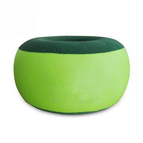 A-Fort DLDL Aufblasbarer Hocker Umwelt PVC aufblasbare Stuhl aufblasbare Dichtung pneumatische Luft Stühle