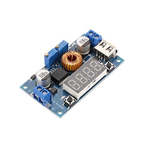Jeanoko Corriente constante ajustable del módulo de la fuente de alimentación del módulo del voltaje del Buck con el puerto USB