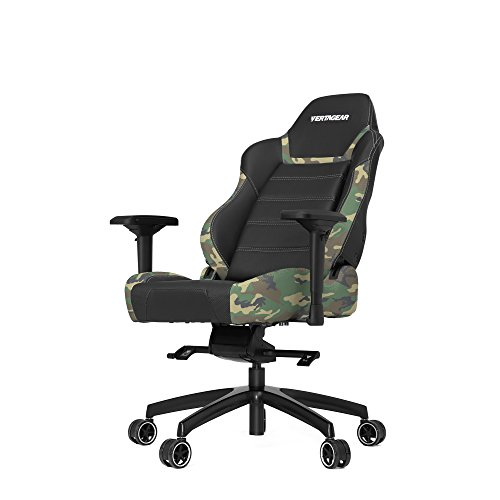 Product Image 4: Vertagear P-Line 6000 Racing Series Gaming Chair, X-Large, Black/Camouflage