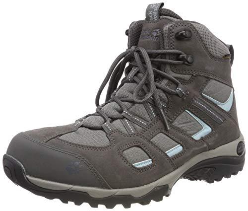 Jack Wolfskin Damen Vojo Hike 2 Texapore MID W Wasserdicht Trekking-& Wanderstiefel, Grau (Tarmac Grey 6011), 41 EU