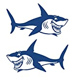 Sharplace 2 Pcs di Kayak Vinile Decalcomanie Adesivi per Barca da Pesca Auto Graphics
