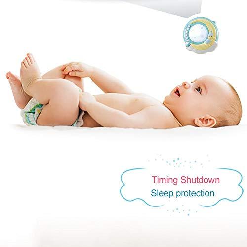 ベッドメリー赤ちゃんおもちゃLUERME音楽回転がらがらラトル多機能投影4種子守歌150曲寝かしつけ用品