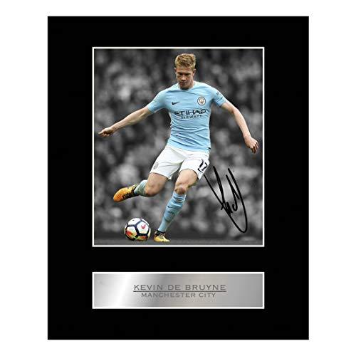 Kevin De Bruyne Gesigneerd Gemonteerd Foto Display Manchester City FC