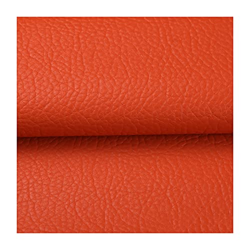 ZHJBD Finta Pelle Morbida Pelle Sintetica PU Tessuto per Tappezzeria 0,7 mm di Spessore Perfetto per Vestire, Cucire, Creare Progetti Fai da Te(Size:2 x 1.38m)