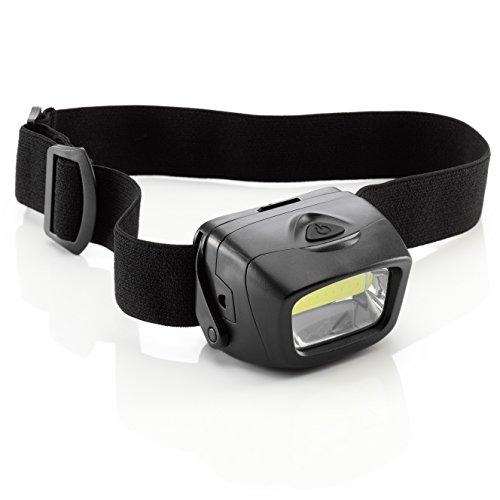 Auraglow Linterna LED Ajustable con Pilas para Cabeza de Perro Caminando