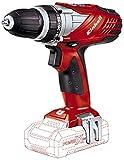 Einhell Akkuschrauber TE-CD 18 Li Set Power X-Change (Lithium Ionen, 18 V, 2 Gang, 48 Nm, LED-Licht, Koffer, ohne Akku und Ladegerät)