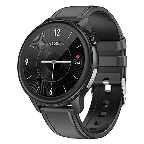 ZGZYL E80 Smart Watch Monitoreo de temperatura/frecuencia respiratoria/oxígeno en sangre/monitoreo de frecuencia cardíaca Fitness Tracker podómetro reloj deportivo, F