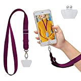 SS Cell Phone Lanyard, Cell Phone Lanyard Strap Adjustable Wrist Lanyard for Running