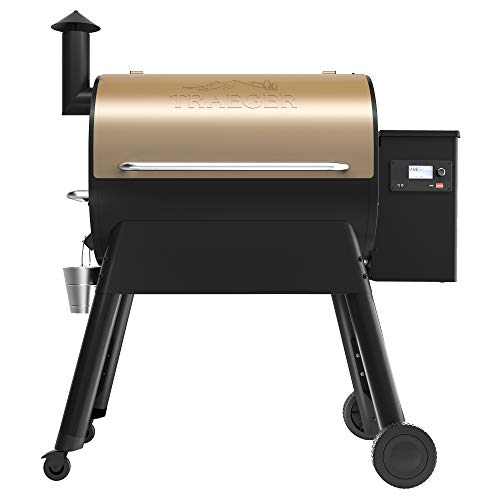 Traeger TFB78GZE Pro Series 780 Pellet Grill, Smoker, Bronze-Fulfilled