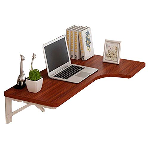 NBVCX Furniture Decoration Home Wall Mounted Laptop Stand Desk Household Collapsible Home Wall Desk Bedroom Small Table Save Space Metal Bracket Multi Colour Opt