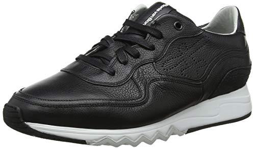 Floris van Bommel Herren 16093/04 Sneaker, Schwarz (Black 04), 42 EU