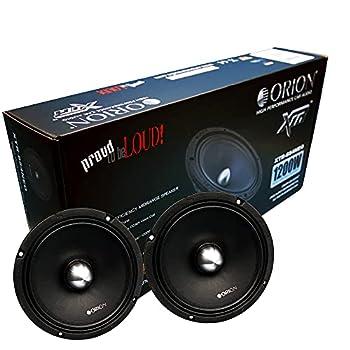 ORION XTR XTR654 NEO 1 Pair  2 Speakers  6.5  NEODIMIUM HIGH Efficiency 97.9 db 1w/1m MIDRANGE CAR Speaker 300 WATT RMS 1200 WATTS MAX 4 OHMS NEO Magnet CAR Audio CAR Stereo MID-Range 6.5