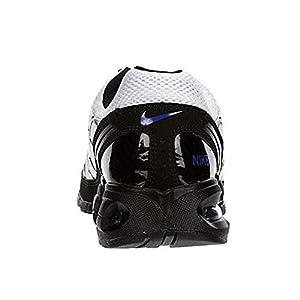 Nike Men's Air Max Torch 4 Running Shoe (10.5, White/Hyper Blue-Black)