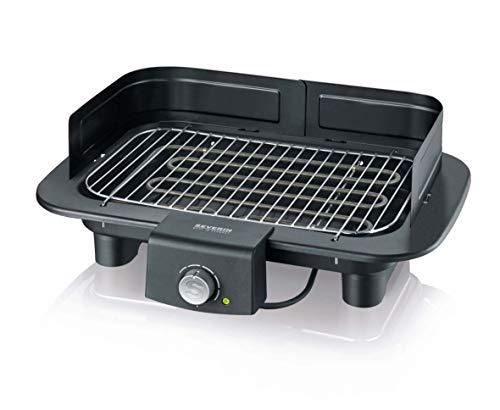 SEVERIN PG 8549 Barbecue-/Tischgrill (2.300W, Grillfläche, 37x23 cm) schwarz