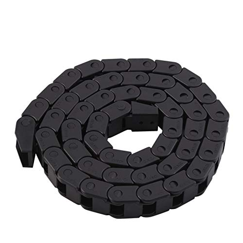 Cable Drag Chain - R28 Black Nylon Cable Drag Chain Wire Carrier 1000mm/40' Long for 3D Printer/CNC Router Machine