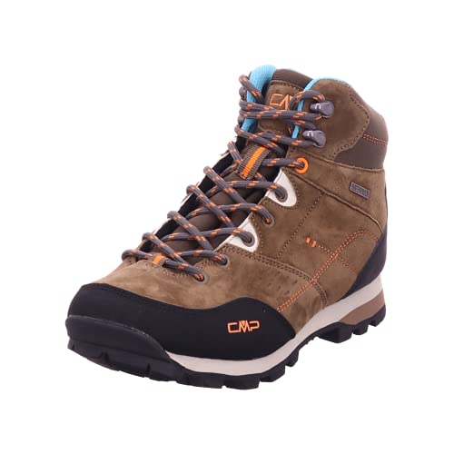 CMP Unisex ALCOR MID WMN Trekking Shoes WP, CORTECCIA, 40 EU