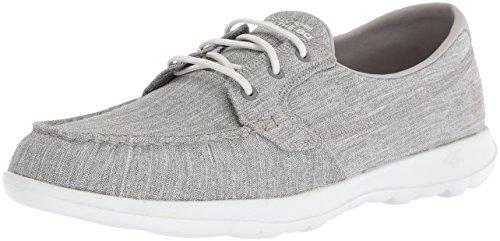 Skechers Go Walk Lite Isla Womens Shoes 38 EU Grey