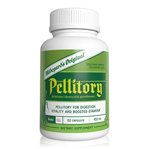 Hildegard's Original Pellitory (Akarkara): Ancient Herbal Memory Supplement for Brain, Mood Booster & Natural Energy