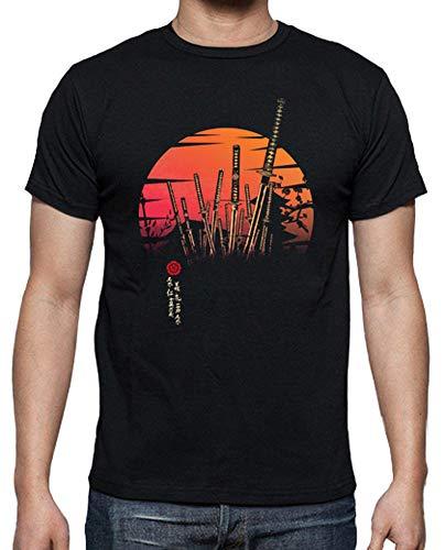 latostadora - Camiseta Samurai Batalla para Hombre