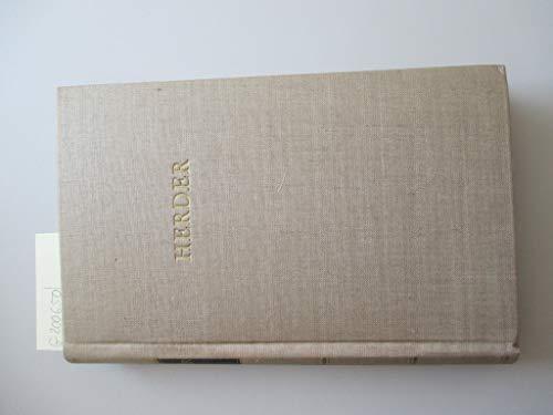 Herders Werke in fünf Bänden, nur erster Band: Gedichte, Journal meiner Reise, Der Cid - Bibliothek deutscher Klassiker