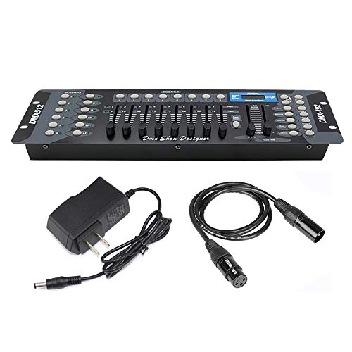 Dmx Controller, Dmx Console,192CH Dmx512 Console, With 2m/6.6 ft DMX Signal Cable, Controller Panel Use For Editing Program Of Stage Lighting Runing