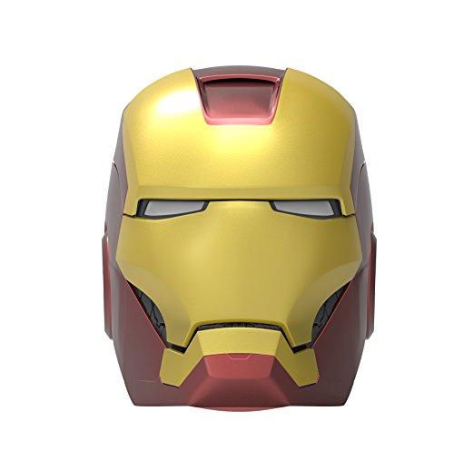 ekids Vi-B72IM Marvel Iron Man Helm Bluetooth Wireless Lautsprecher mit leuchtenden...