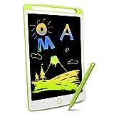 Richgv Tabletas de Escritura LCD 10 Pulgadas,Tablet para Niños Electrónica Gráfica Tablero Mensaje Portátil, Pizarra Magica Infantil Escribir Dibujar Notas Clase Oficina Familia…