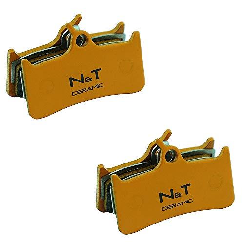 Noah And Theo NT-BP019/CR - Pastillas de freno de disco de cerámica para sistema Grimeca 8 (2 unidades)