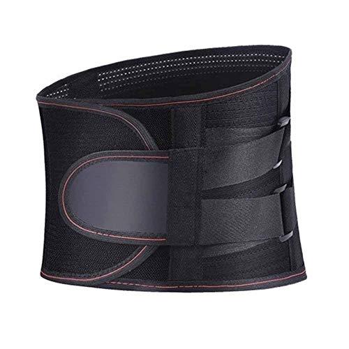 ZFF Cinturón De Soporte Lumbar Soporte De Espalda Baja Respirable, Doble Compresión...