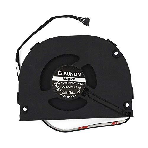 OLVINS CPU Ventilador de refrigeración para Apple Airport Extreme A1470 Ventilador Sunon MG60121V1-C01U-S9A