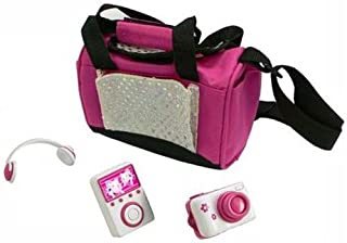 Teacup Piggies Deluxe Accessory Set MP3 Set with Pink Black