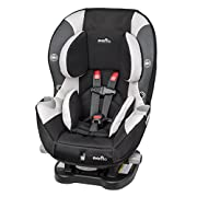 This Convertible Car Seat helps protect rear facing infants from 5-40 pounds and forward facing toddlers from 22-65 pounds allowing the Triumph LX to grow with your child Evenflo's proprietary e3 Side Impact Protection significantly reduces side impa...