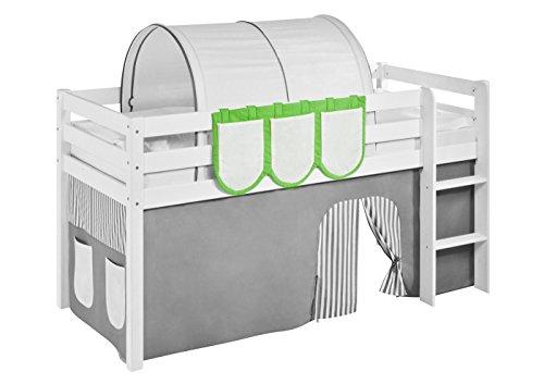 Lilokids Hängetaschen Grün Beige - für Hochbett, Spielbett und Etagenbett