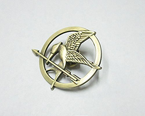 Mimiki Hunger Games Movie Mockingjay Prop Rep Pin Metal