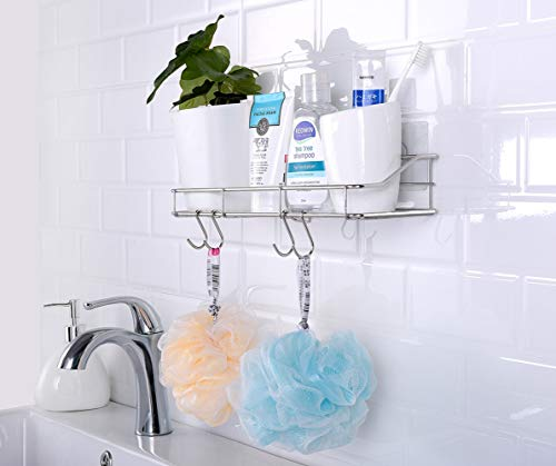 Adhesive Bathroom Shelf Organizer Shower - 2 PACK