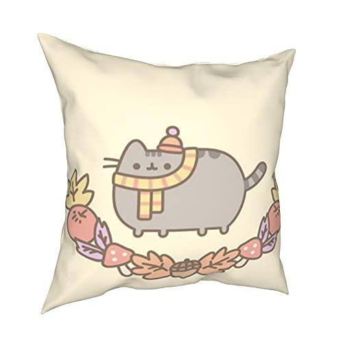 Federa per cuscino con motivo frutta Push_Een, cuscino decorativo per la casa con cerniera, per letto e divano