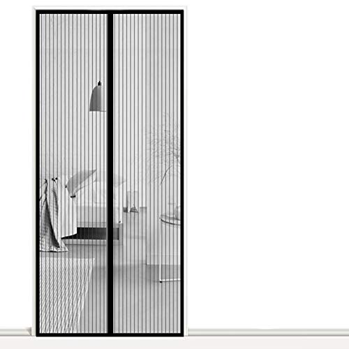 AMZERO Zanzariera Finestra Magnetica, 100x250cm Magnetico Velcro Tenda Anti Zanzare Chiudi...