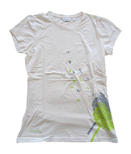 Berghaus Damen Pusteblume T Shirt AF 420911Short Sleeve Top Gr. 40, Dark White(J41)