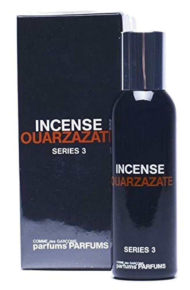 万一に備えて外部ヨーロッパComme des Garcons Series 3 Incense: Ouarzazate Eau De Toilette 1.7 oz / 50 ml New In Box