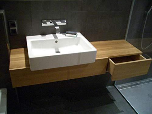 Waschbecken Unterschrank/Waschtisch Holz