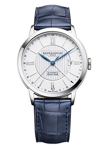 Baume et Mercier MOA10272 - Reloj automático de doble hora para hombre
