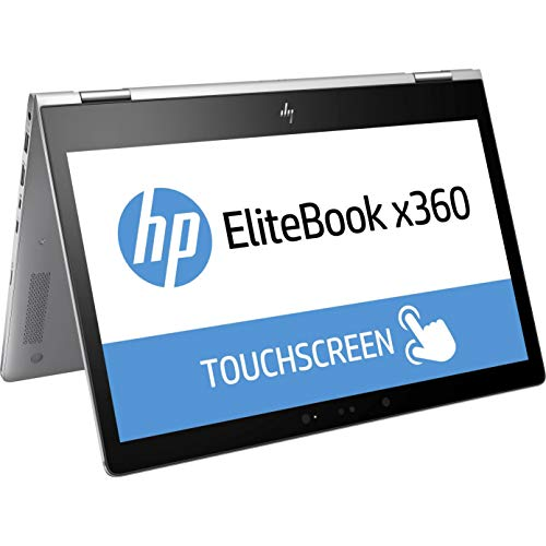 HP EliteBook x360 1030 G2 Notebook 2-in-1 Convertible Laptop PC - 7th Gen Intel i5, 8GB RAM, 512GB SSD, 13.3 inch Full HD (1920x1080) Touchscreen, Win10 Pro, Thunderbolt (Renewed)