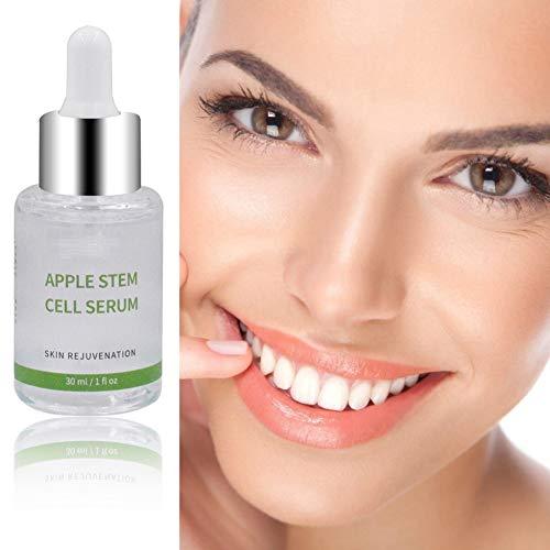 ColorfulLaVie Apfelstammzell-Gesicht Serum, Lighten Fine Lines Firming Skin Anti-Falten-Anti-Aging-Gesichtswasser