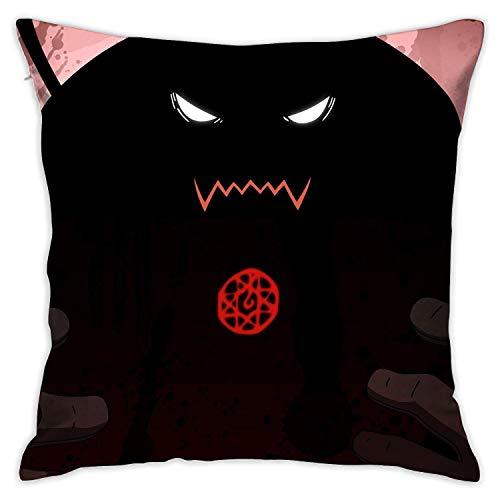 LAVYINGY D Fullmetal Alchemist - Fundas de almohada con bonitas fundas de almohada de 45,7 x 45,7 cm para dormitorio y sala de estar