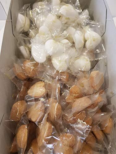 La Via del Tè ZUCCHERO A ZOLLETTE A FORMA DI CUORE 50 pezzi zucchero bianco 50 pezzi zucchero di canna