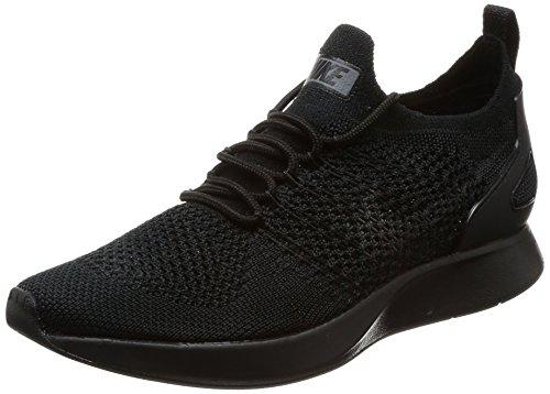 Nike Women's Air Zoom Mariah Flyknit Racer Trainers, (Black/Dark Grey White), 3.5 UK 36.5 EU
